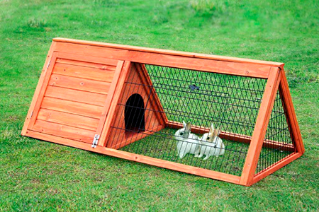 сделать клетку для кроликов своими руками фото